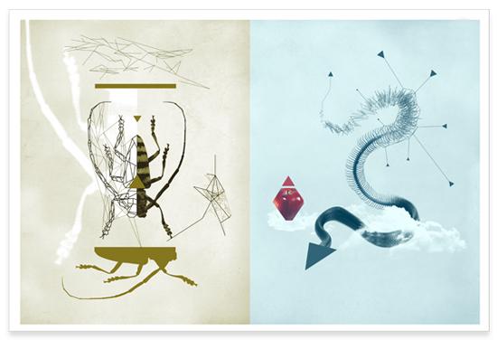 Artist Dan Catterman-lines-graphic design-illustration-fine arts-digital art_3
