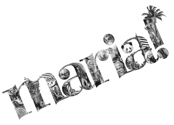 Artist Emil Bertil_Illustrated Letters_hand drawn_drawing_typography_11