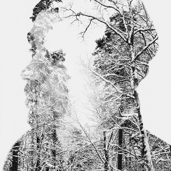 Photographer _Christoffer Relander_Multiple exposure_Between man and nature_Fine art_Photography_Project_winter-melancholy