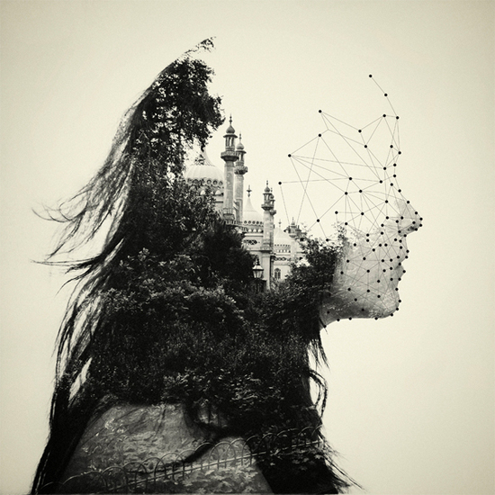 Photographer_Artist_Dan Mountford_Double Exposure_portraits_Girl_Park