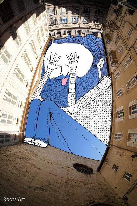 Sky art_Urban architecture_Modern Contemporary art_Illustration_