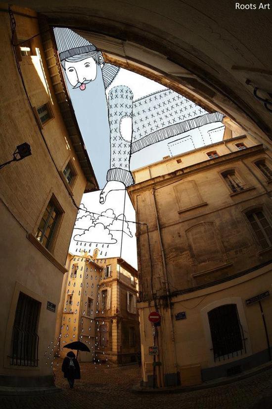 Sky art_Urban architecture_Modern Contemporary art_Illustration_8