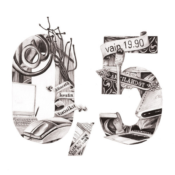 Artist Emil Bertil_Illustrated Letters_hand drawn_drawing_typography_2