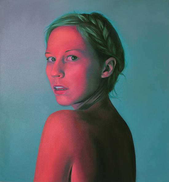 Artist_Jen Mann_oil paintings_Strange Beauties_Art_Artwork_portraits_Canvas_Illusions_dreams_innocence_playfulnes_childhood_nightlight