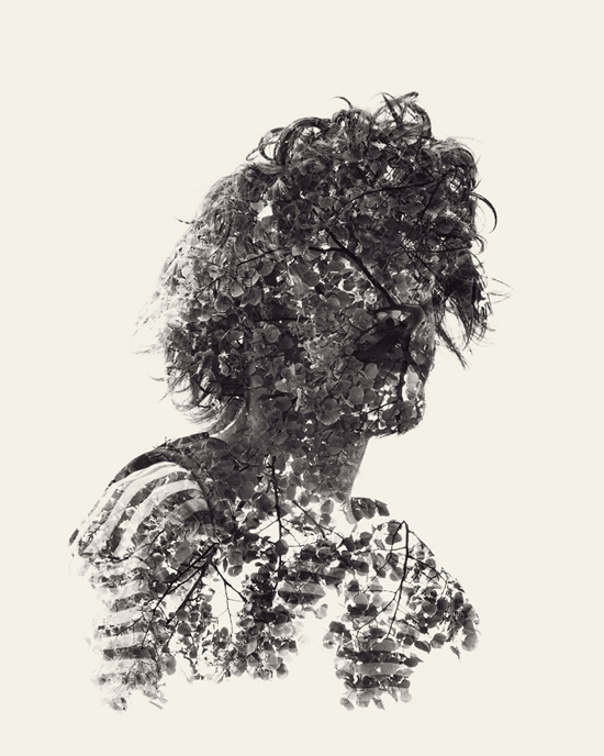 Photographer _Christoffer Relander_Multiple exposure_Between man and nature_Fine art_Photography_Project_