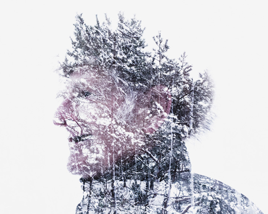 Photographer _Christoffer Relander_Multiple exposure_Between man and nature_Fine art_Photography_Project_eagerly
