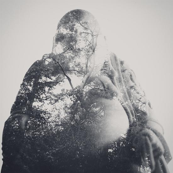 Photographer_Artist_Dan Mountford_Double Exposure_portraits_budda_forest